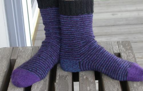 Stashbuster Spiral Socks