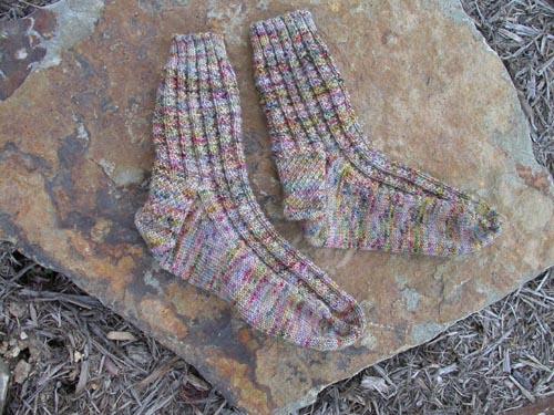 Fluted Bannister socks