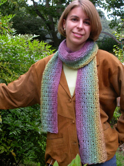 Pooling Colors Scarf